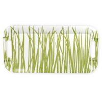 Boston International Sea Grass Tray in Green/White