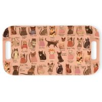 Boston International Cool Cats Melamine Serving Tray