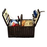 Picnic at Ascot Surrey Picnic Basket for 2 in Blue