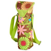 Picnic at Ascot Floral Print Wine/Water Bottle Tote in Floral