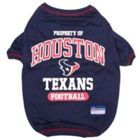 NFL Houston Texans X-Large Pet T-Shirt