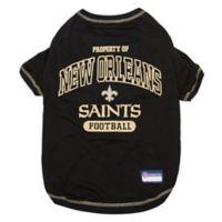 NFL New Orleans Saints Large Pet T-Shirt