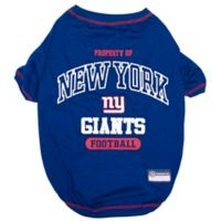 NFL New York Giants Large Pet T-Shirt