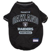 NFL Oakland Raiders Large Pet T-Shirt