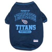 NFL Tennessee Titans Medium Pet T-Shirt
