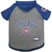 MLB Chicago Cubs Large Pet Hoodie T-Shirt