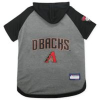 MLB Arizona Diamondbacks Large Pet Hoodie T-Shirt