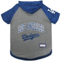 MLB Los Angeles Dodgers Large Pet Hoodie T-Shirt