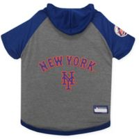 MLB New York Mets Large Pet Hoodie T-Shirt