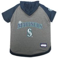 MLB Seattle Mariners Medium Pet Hoodie T-Shirt