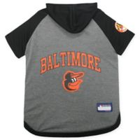 MLB Baltimore Orioles Large Pet Hoodie T-Shirt