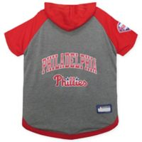 MLB Philadelphia Phillies Medium Pet Hoodie T-Shirt