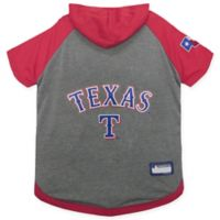 MLB Texas Rangers Large Pet Hoodie T-Shirt