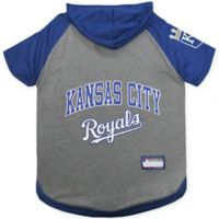 MLB Kansas City Royals Medium Pet Hoodie T-Shirt