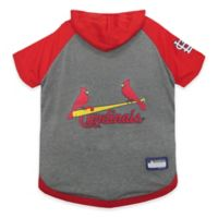 MLB St. Louis Cardinals Large Pet Hoodie T-Shirt