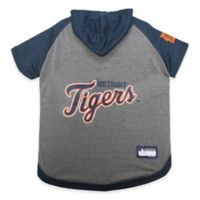 MLB Detroit Tigers Large Pet Hoodie T-Shirt