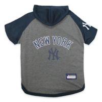 MLB New York Yankees Extra Small Pet Hoodie T-Shirt