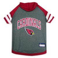 NFL Arizona Cardinals Medium Pet Hoodie T-Shirt
