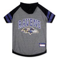 NFL Baltimore Ravens Medium Pet Hoodie T-Shirt