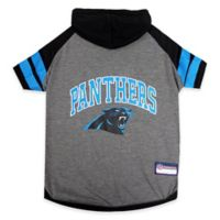 NFL Carolina Panthers Extra Small Pet Hoodie T-Shirt