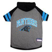 NFL Carolina Panthers Medium Pet Hoodie T-Shirt