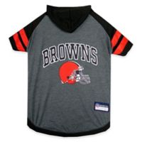 NFL Cleveland Browns Large Pet Hoodie T-Shirt