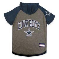 NFL Dallas Cowboys Medium Pet Hoodie T-Shirt