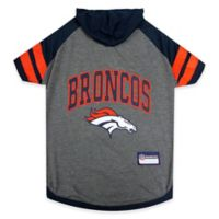 NFL Denver Broncos Extra Small Pet Hoodie T-Shirt