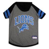 NFL Detroit Lions Medium Pet Hoodie T-Shirt