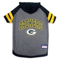 NFL Green Bay Packers Large Pet Hoodie T-Shirt