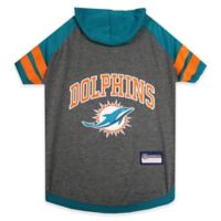 NFL Miami Dolphins Medium Pet Hoodie T-Shirt