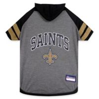 NFL New Orleans Saints Extra Small Pet Hoodie T-Shirt