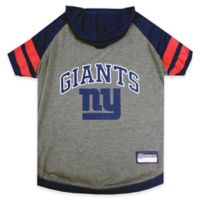 NFL New York Giants Medium Pet Hoodie T-Shirt