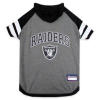NFL Oakland Raiders Extra Small Pet Hoodie T-Shirt