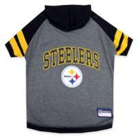 NFL Pittsburgh Steelers Medium Pet Hoodie T-Shirt