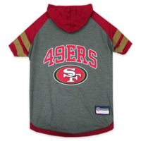 NFL San Francisco 49ers Small Pet Hoodie T-Shirt