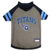 NFL Tennessee Titans Medium Pet Hoodie T-Shirt