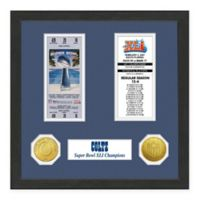 NFL Indianapolis Colts Super Bowl Champions Ticket and Commemorative Coin Collection