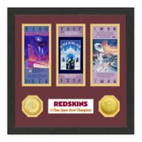 NFL Washington Redskins Super Bowl Champions Ticket and Commemorative Coin Collection
