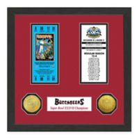 NFL Tampa Bay Buccaneers Super Bowl Champions Ticket and Commemorative Coin Collection