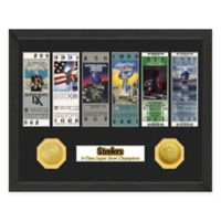 NFL Pittsburgh Steelers Super Bowl Champions Ticket and Commemorative Coin Collection