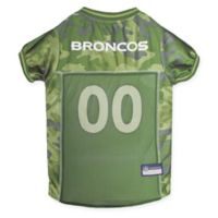 NFL Denver Broncos X-Large Camo Pet Jersey