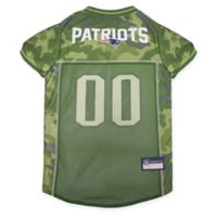 NFL New England Patriots Small Camo Pet Jersey