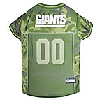 NFL New York Giants X-Large Camo Pet Jersey