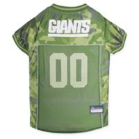 NFL New York Giants Large Camo Pet Jersey
