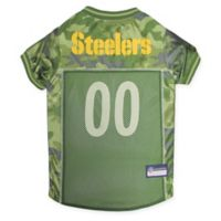 NFL Pittsburgh Steelers Small Camo Pet Jersey