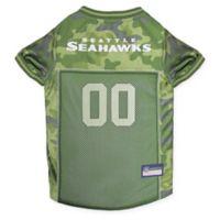 NFL Seattle Seahawks Medium Camo Pet Jersey