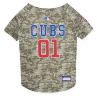 MLB Chicago Cubs X-Small Camo Pet Jersey
