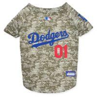 MLB Los Angeles Dodgers Small Camo Pet Jersey