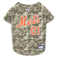 MLB New York Mets Small Camo Pet Jersey